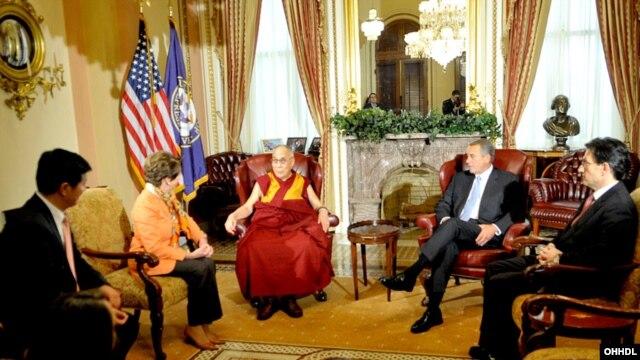 达赖喇嘛3月6日与美国国会领导人会晤