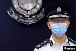 资料照:香港警务处处长萧泽颐