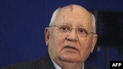 Mixail Qorbaçov Rusiya liderlərini tənqid edib