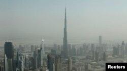 Menara tertinggi di dunia, Burj Khalifa di Dubai (Foto: dok/REUTERS/Ahmed Jadallah).