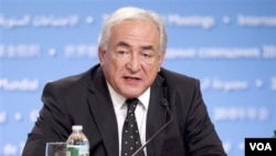 Direktur IMF, Dominique Strauss-Kahn