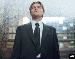 """LEONARDO DiCAPRIO as Cobb in Warner Bros. Pictures' and Legendary Pictures' sci-fi action film """"INCEPTION,"""" a Warner Bros. Pictures release."""