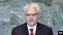Predsjednik Ivo Josipović govori u Glavnoj skupštini Ujedinjenih naroda