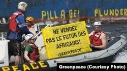 綠色和平組織進行的為期三週的聯合行動發現,漁船存在違法違規行為。