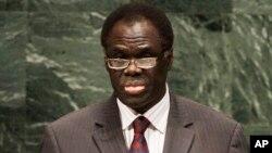 Michel Kafando saat memberikan pidato di depan sidang majelis umum PBB di New York (foto: dok).