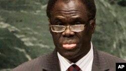 Tsohon Ministan harkokin wajen kasar Burkina Faso Michel Kafando.
