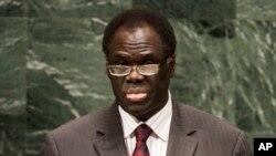Michel Kafando ageza ijambo ku nteko rusange ya ONU ya 65, taliki ya 28 y'ukwezi kwa cyenda muri 2010