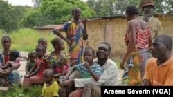 La pauvreté touche près de 78% de personnes dans les villages du Pool, comme ici à Mounkoto, le 21 mars 2019. (VOA/Arsène Séverin)