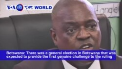 VOA60 World - Botswana Elections Start with Strong Turnout