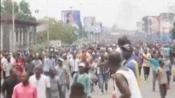 Affrontements entre la police et des manifestants à Kinshasa