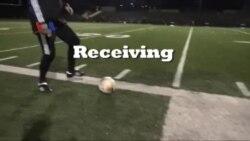 Latihan Menerima dan Mengarahkan Bola - Belajar Bola, Mantap!