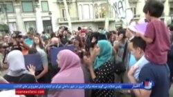 تجمع خودجوش مسلمانان در اعتراض به خشونتهای داعش در بارسلون