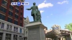 Manchetes Americanas 18 Agosto: Removida estátua de Juiz que escreveu Acórdão sobre escravatura