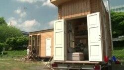 德国建筑师为难民建造低租金的小房子