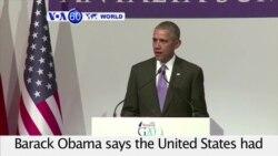 VOA60 World - U.S. President Barack Obama says the United States had no precise intelligence warning of the Paris bombing