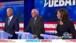 Американські сенаторки Камала Гаріс та Елізабет Воррен збільшили рейтинг підтримки потенційних виборців. Відео