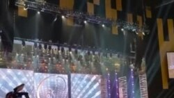 Stage for Miss Universe Competition for National Costume