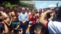 Protesta por detención de diputado Juan Requesens