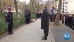 Charlie Hebdo: quatre ans après, hommage au policier tué