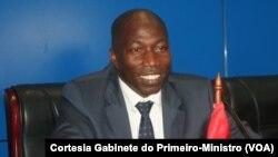 Domingos Simões Pereira, presidente do PAIGC