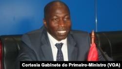 Domingos Simões Pereira, primeiro-ministro da Guiné-Bissau