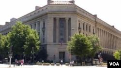 美國司法部總部(2001年8月2日資料照片)