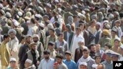 আফগানিস্তানে নেটো অভিযানের বিরুদ্ধে সহিংস প্রতিবাদের সময়ে অন্তত ১২ জন নিহত হয়েছে