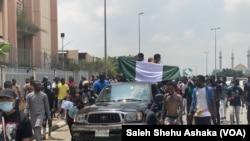 Zanga Zangar EndSARS a Abuja 2