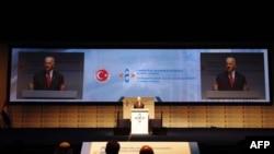 Joe Biden, Küresel Girişimcilik Zirvesi'nin konuşurken
