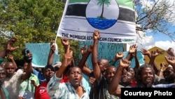 MRC demonsrtations in Mombasa