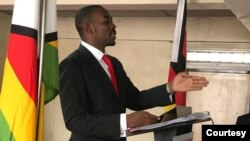 Nelson Chamisa At Hope Of The Nation Address