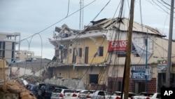 青年黨襲擊索馬里摩加迪沙納索‧哈布羅德酒店