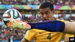 Các tuyển thủ mệnh danh là Socceroo đã thi đấu một trận ngang ngửa với Hà Lan.