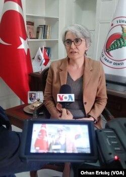 Gaziantep-Kilis Tabip Odası Başkanı Dr. Ayşegül Ateş Tarla