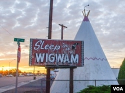 The Wigwam Motel in Holbrook, Arizona
