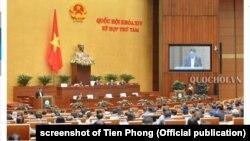 Đại đa số ghế quốc hội Việt Nam do các quan chức lãnh đạo các bộ, các địa phương nắm giữ
