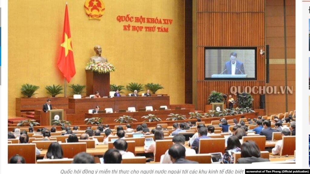 Quốc hội Việt Nam thông qua luật xuất nhập cảnh sửa đổi, 25/11/2019