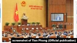 Quốc hội VN khóa 14 có 494 đại biểu song chỉ chừng 20 người không phải là đảng viên cộng sản.