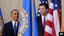 El presidente Obama elogió a Comey, a quien describió como alguien que sabe lo que es correcto y que está dispuesto a actuar a diario sobre esa base.