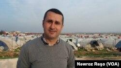 Mihemed Alo, mamosteyê zimanê Kurdî li herêma Efrîn