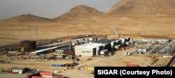 Fasilitas pembangkit listrik di Afghanistan. (Foto: laporan SIGAR).