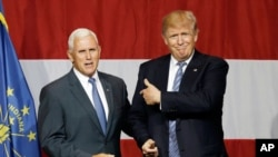 Trump tare da Mike Pence