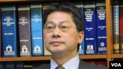 台灣外交部發言人李憲章(資料照片)