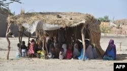 Elèves d'une école coranique de Bosso dans le sud-est du Niger, le 25 mai 2015.
