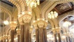 نمایی از مسجد صالح