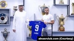 متحدہ عرب امارات میں دبئی کے النصر فٹ بال کلب نے اسرائیل کے 27 سالہ کھلاڑی ضیا سبع سے دو سال کے لیے معاہدہ کیا ہے۔