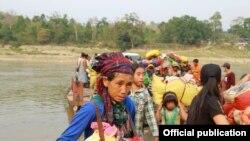 တႏိုင္းေဒသကို ျပန္ေရာက္လာသည့္ IDP စစ္ေရွာင္ျပည္သူမ်ား (KBC KACHIN)