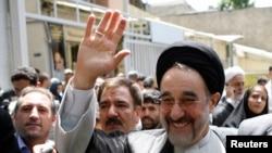 Bivši iranski predsednik Mohamed Hatami