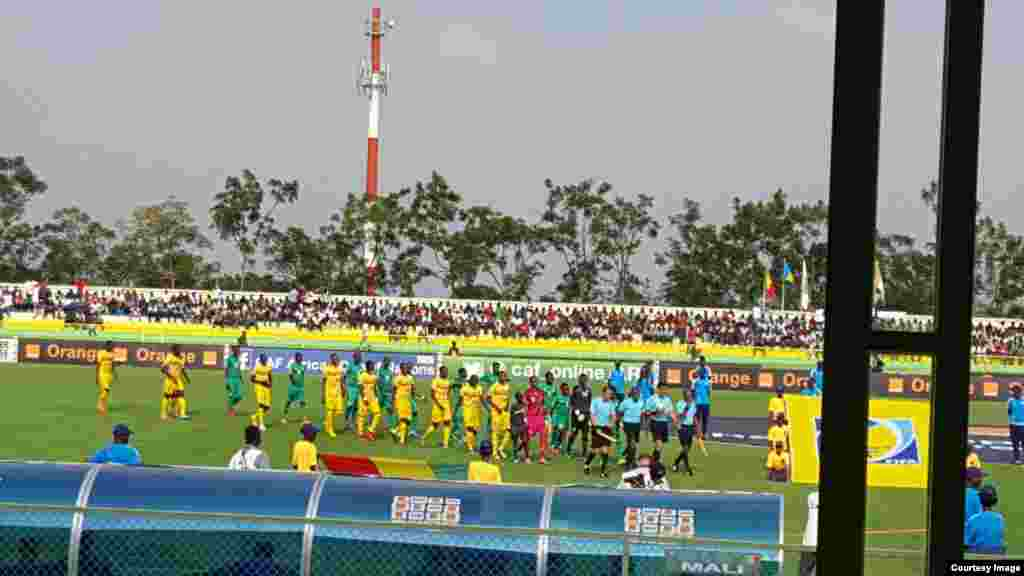 Congo Vs Mali