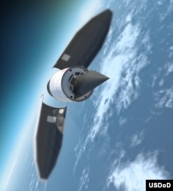 超高音速飛行器想像圖